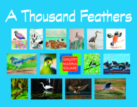A THOUSAND FEATHERS, A GROUP SHOW FOR JANUARY 2019