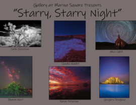 Starry Starry Night, A Group Photography Show, Featured Artists, November 2019