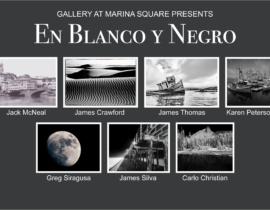 En Blanco Y Negro, Group Photography Featured Artist Show, August 2019