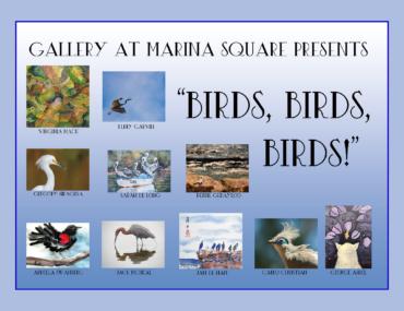 Birds, Birds, Birds! A Featured Artists Group Show for January 2020