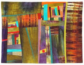 """Layers of Love"" a Mixed Media Collage Group Show"