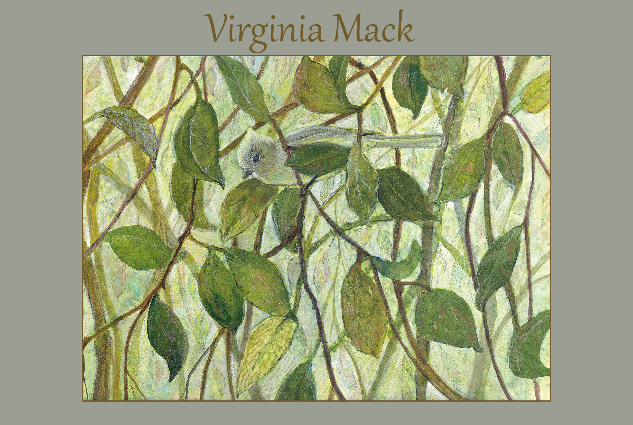 Virginia Mack, Featured Artist August 2020