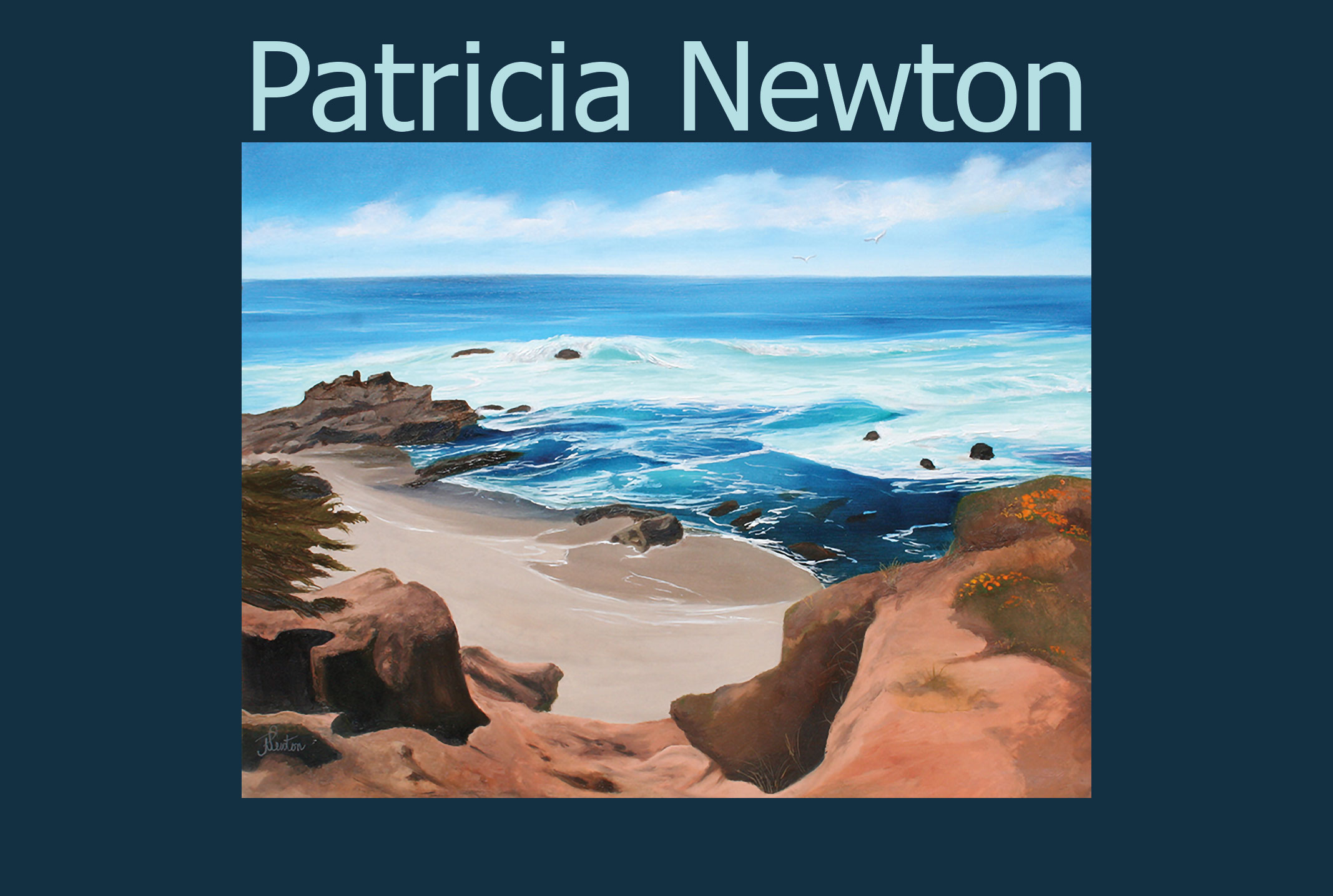 Patricia Newton, Featured Artist August 2020