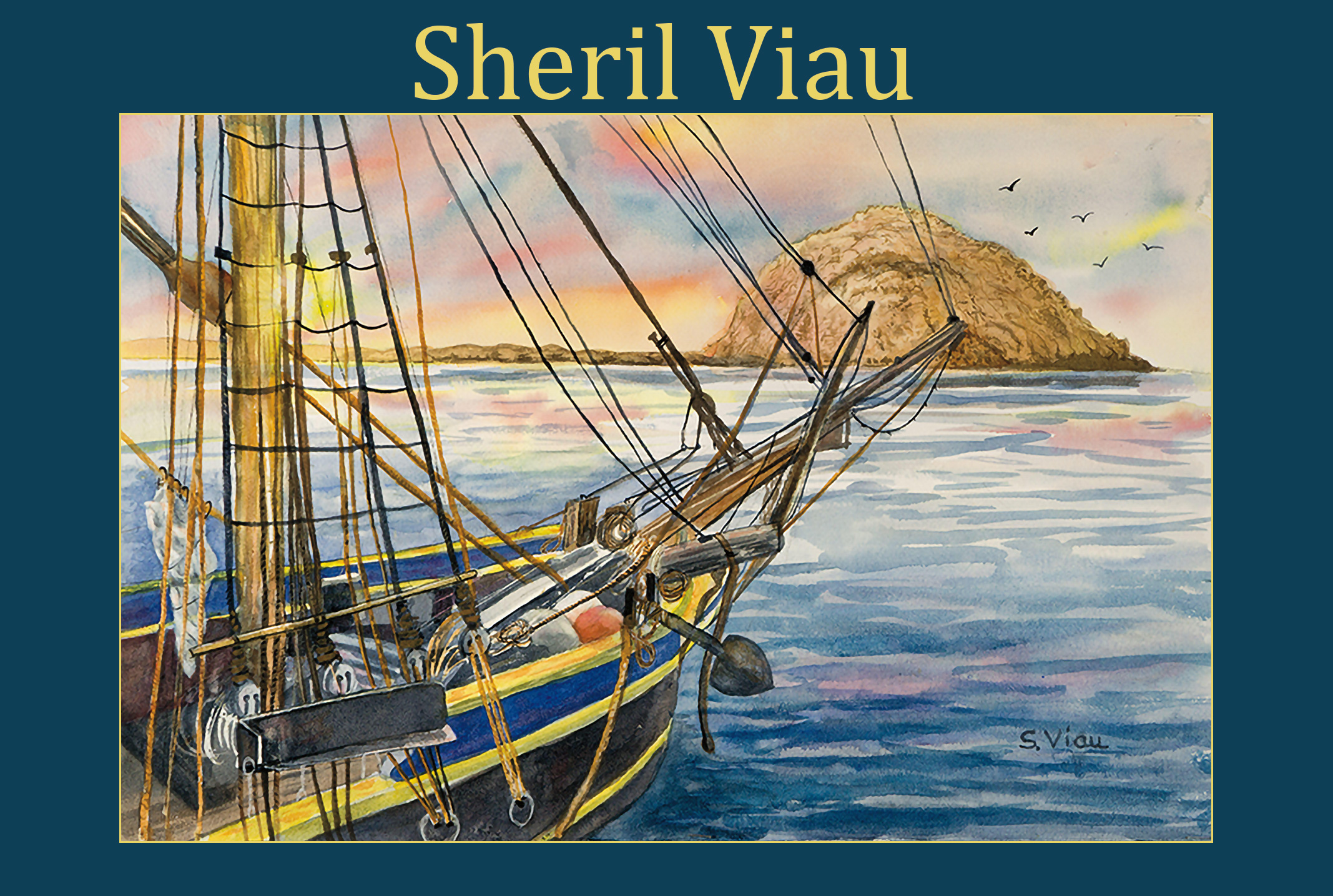 Sheril Viau, Featured Artist April 2021