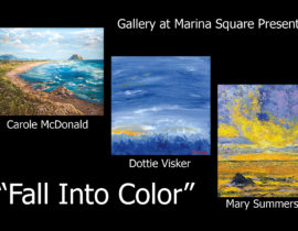 Fall Into Color, Carole McDonald, Dottie Visker & Mary Summers, Featured Artists: September 2021